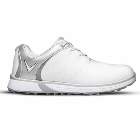 Callaway Halo Pro White/Silver Golf Shoes