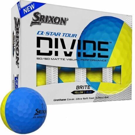 Srixon Q Star Divide Sárga/Kék Golf Labda