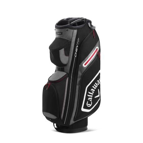 Callaway Chev 14+ Cart Bag Black/White/Charcoal