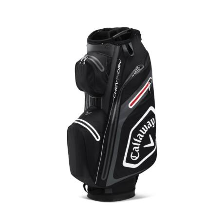 Callaway Chev Dry 14 Cart Bag Black/Charcoal/White/Red