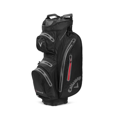 Callaway Hyper Dry 15 Cart Bag Black/Charcoal/Red