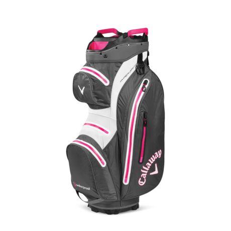 Callaway Hyper Dry 15 Cart Bag Charoal/White/Pink