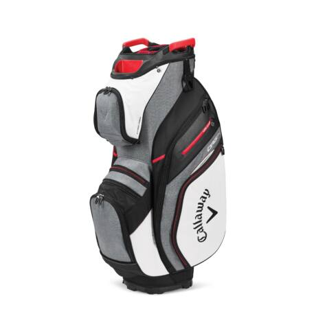 Callaway Org 14 Cart Bag White/Charcoal/Black/Red