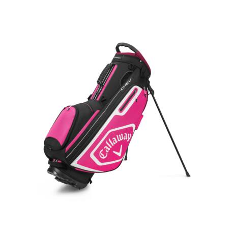 Callaway Chev Stand Bag Black/Pink/White