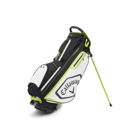 Callaway Chev Stand Bag Black/White/Yellow