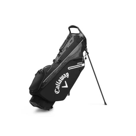 Callaway Hyperlite zero Stand Bag Black/Charcoal/White