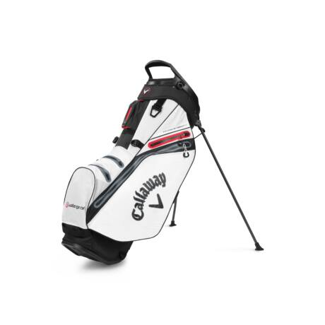 Callaway Hyper Dry 14 Stand Bag White/Black/Red