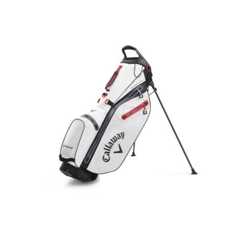 Callaway Hyper Dry C Stand Bag White/Black/Red