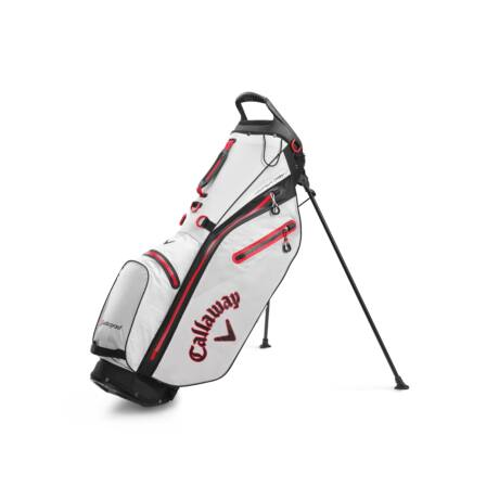 Callaway Hyper Dry C Stand Bag Stone/Black/Red