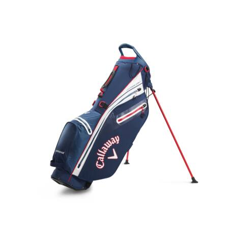 Callaway Hyper Dry C Stand Bag Navy/White/Red