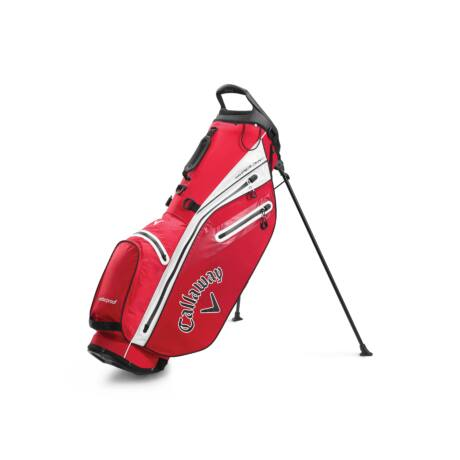 Callaway Hyper Dry C Stand Bag Red/White/Black