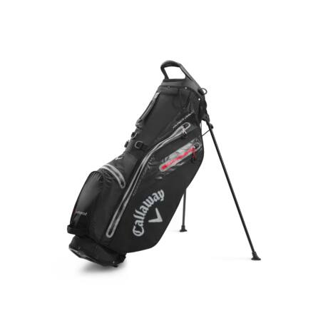 Callaway Hyper Dry C Stand Bag Black/Charcoal/Red