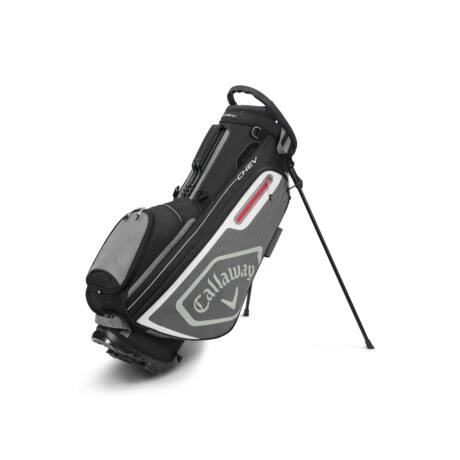 Callaway Chev Stand Bag Black/Charcoal/White