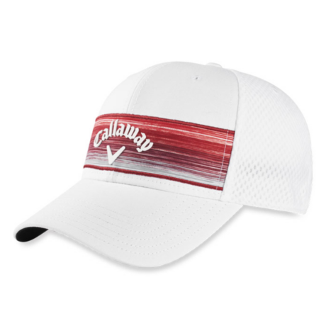 Callaway Stripe Mesh Adjustable Cap