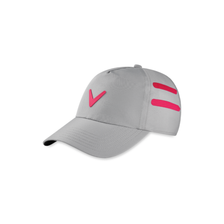 Callaway Opti Vent Ladies Adjustable Cap Silver Pink