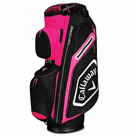 Callaway Chev Org 2019 Cart Bag - Pink/Black/White