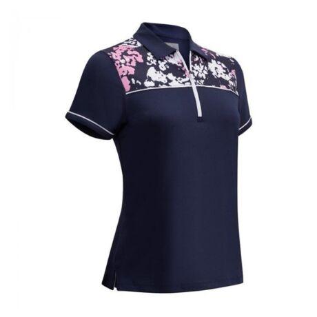 Callaway Ladies Floral Shoulder Print Shirt