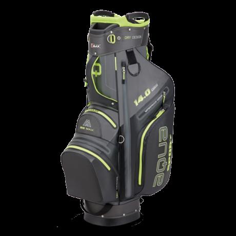 Big Max Aqua Sport 3 Cart Bag Szürke/Fekete/Lime