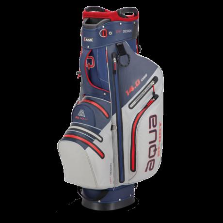 Big Max Aqua Sport 3 Cart Bag Navy/Ezüst/Piros