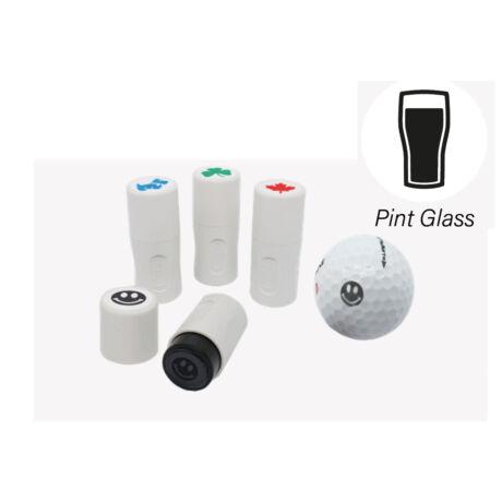 Labda nyomda Pint Glass