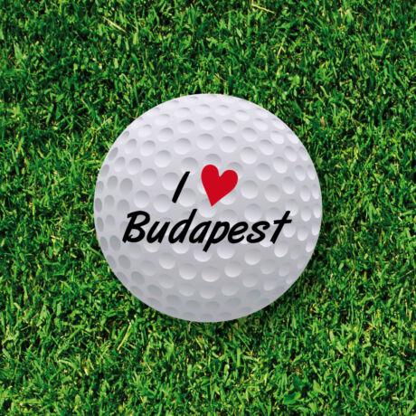 Srixon Marathon I Love Budapest Logo Sleeve (3db)