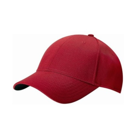 Callaway Front Crested Structured Golf Cap RED