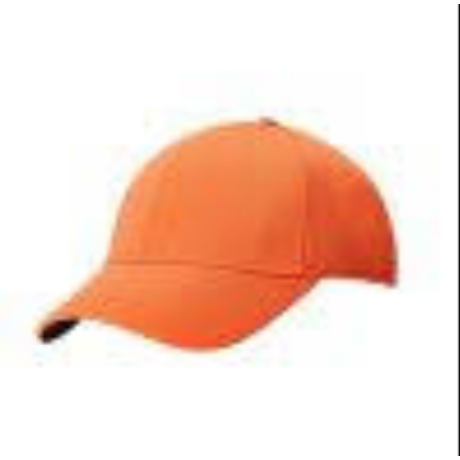 Callaway Front Crested Structured Golf Cap ORANGE