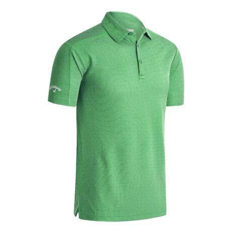 Callaway Box Jaquard Polo Irish Green