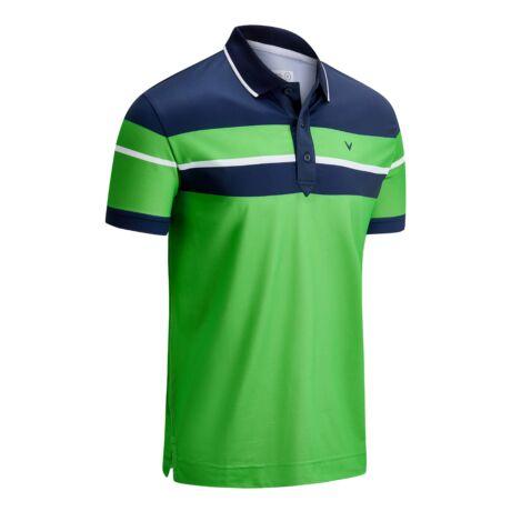 Callaway Golf X-Series Chest Block Shirt-Green Spring