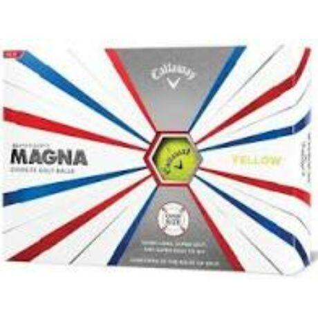 Callaway Magna Yellow Golf labda 2019