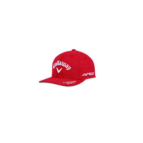 Callaway Mens TA Performance Pro Adjustable Cap Piros