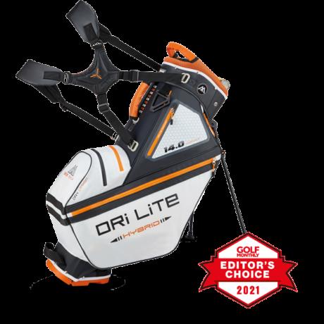 Big Max DriLite Hybrid Tour Stand Bag Fehér/Fekete/Narancs