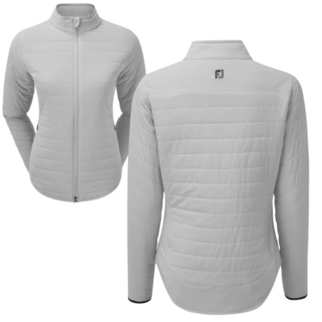 Footjoy Ladies Thermal Insulated Golf Jacket GREY