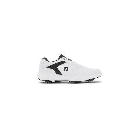 FootJoy eComfort White/Black Golf Cipő