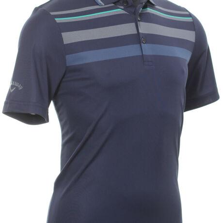 Callaway Golf Birdseye Chest Stripe Shirt