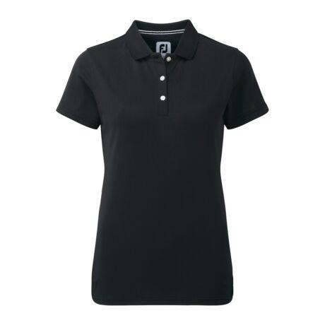FootJoy Stretch Pique Solid Shirts Women Black