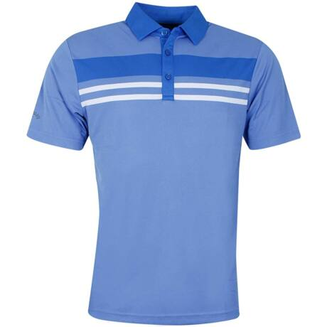 Callaway Men's Yarn Dye Chest Stripe Polo Shirt
