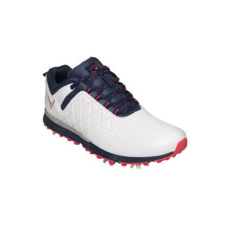 Callaway Lady Mulligan White/Navy Golf Shoes