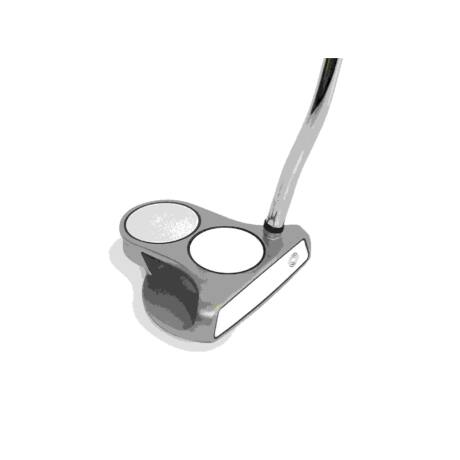 Odyssey White Hot Pro 2-Ball Putter Right-handed