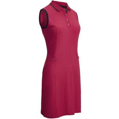 Callaway Ladies Sleeveless Jersey Stretch Polo Dress VIRTUAL PINK