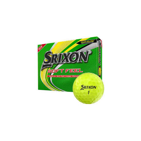 Srixon Soft Feel Yellow Golf Labda