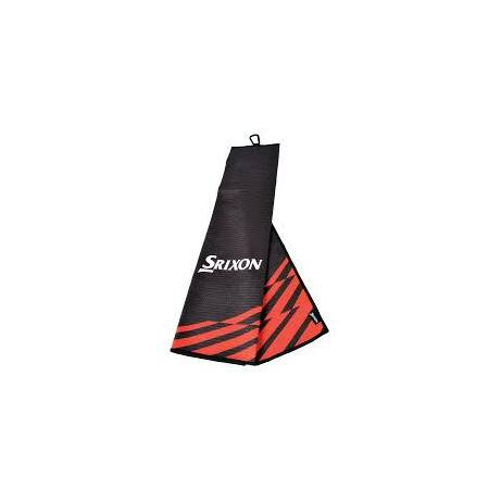 Srixon TriFold Törölköző Fekete/Piros