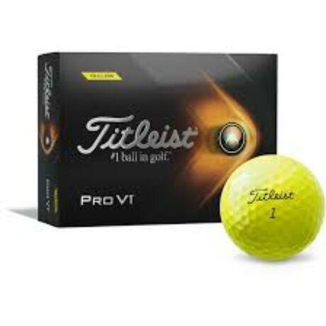 Titleist Pro V1 (2021) Sárga Golf Labda