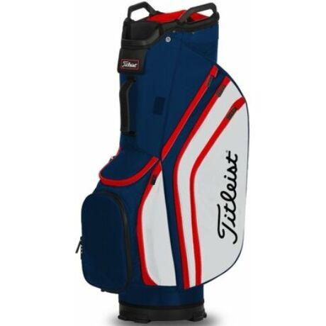 Titleist Lightweight Cart bag Navy/Fehér/Piros