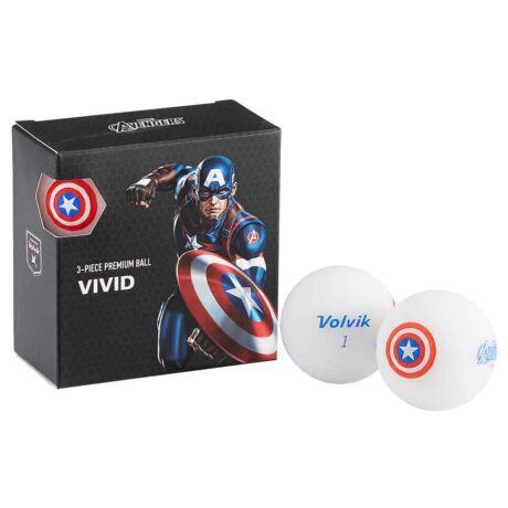 Volvik Captain America Pack (4db)