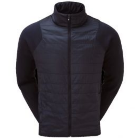 FOOTJOY JERSEY FLEECE QUILTED JACKET NAVY