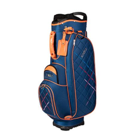 XXIO Premium Lady Cart Bag Navy/Orange