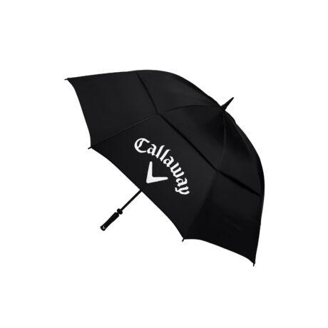"Callaway Classic 64"" Double Umbrella Black/White"