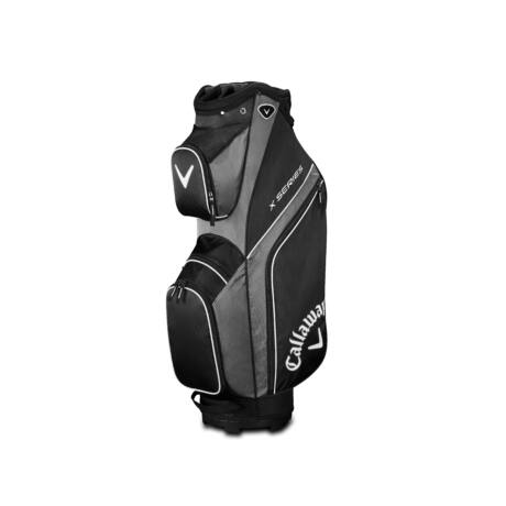 Callaway X Series Cart Bag Black/Titanium/White