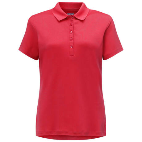 Callaway Ladies Micro Hex Polo - Tango Red